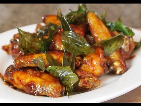 Thai Glazed Garlic Chicken Wing Recipe