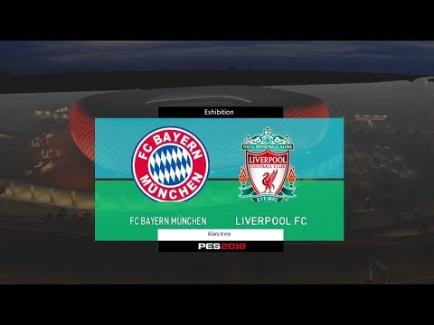 Bayern Munchen Vs Liverpool - Audi Cup 2017 Gameplay