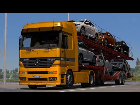 Mercedes-Benz Actros MP1 6x4, 8x4 [1.31.x]