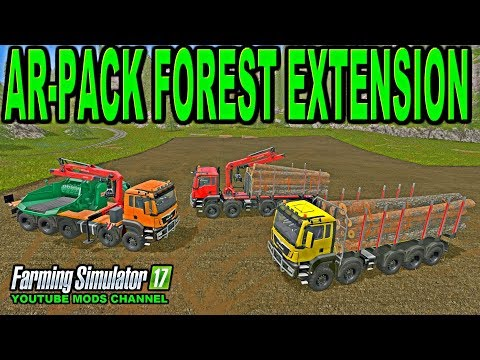 Forest extension for the MAN TGS 6x / 8x / 10x AR-Pack v1.0