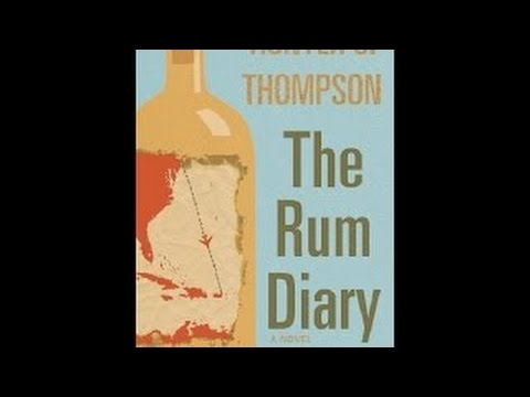 Hunter S. Thompson - The Rum Diary BOOK REVIEW #ABF