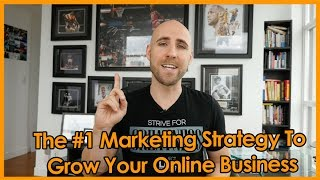 "FREE COURSE To Start Your Online Business:http://projectlifemastery.com/free-courseI would like to share with you the #1 marketing strategy that you need to grow your online business. This is what I spend the majority of my time doing in my business. It is the most valuable action that I engage in, in order to gain more traffic, create impact in peoples' lives, build my brand, and make more money.The strategy that I am referring to is content marketing. In simplest terms, it is the process of creating valuable and relevant content for your target audience in order to build relationships and trust with them. In today's digital world, content is king. Everything on the Internet is comprised of content, in the form of text, images, video, and audio. Research shows that every minute, 1440 WordPress blogs are published, and 500 hours of content are uploaded to YouTube. Seth Godin said it best, ""Content marketing is the only marketing left."" ★☆★ VIEW THE BLOG POST: ★☆★http://projectlifemastery.com/number-1-marketing-strategy★☆★ SUBSCRIBE TO ME ON YOUTUBE: ★☆★Subscribe ► http://projectlifemastery.com/youtube★☆★ FOLLOW ME BELOW: ★☆★Blog ► http://www.projectlifemastery.comTwitter ► http://www.projectlifemastery.com/twitterTwitter ► http://www.twitter.com/stefanjames23Facebook ► http://www.projectlifemastery.com/facebookFacebook ► http://www.facebook.com/stefanjames23Instagram ► http://projectlifemastery.com/instagramInstagram ► http://www.instagram.com/stefanjames23Snapchat ► http://projectlifemastery.com/snapchatPeriscope ► http://projectlifemastery.com/periscopeiTunes Podcast ► http://www.projectlifemastery.com/itunes★☆★ MY PRODUCTS & COURSES: ★☆★Life Mastery Accelerator ► http://www.lifemasteryaccelerator.comOnline Business Mastery Accelerator ► http://www.onlinebusinessmasteryaccelerator.comMorning Ritual Mastery ► http://www.morningritualmastery.comAffiliate Marketing Mastery ► http://www.affiliatemarketingmastery.comKindle Money Mastery ► http://www.kmoneymastery.com24 Hour Book Program ► http://www.24hourbook.comKindle Optimizer ► http://www.koptimizer.com★☆★ MERCHANDISE: ★☆★Mastery Apparel ► http://www.masteryapparel.com★☆★ RECOMMENDED RESOURCES: ★☆★http://www.projectlifemastery.com/resourcesIf you found this video valuable, give it a like.If you know someone who needs to see it, share it.Leave a comment below with your thoughts.Add it to a playlist if you want to watch it later."