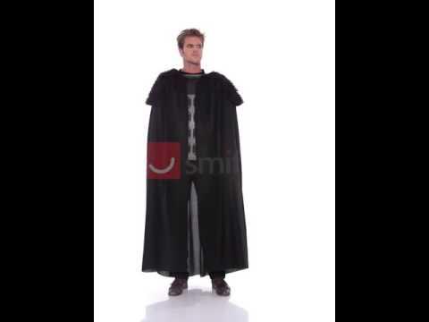 Deguisement de guerrier barbare noir