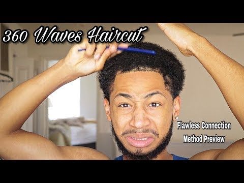 Hair cutting - Cutting my 8 Week Long Wolf & Flawless Connection Method PREVIEW