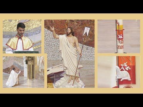 2020-04-13 2020-04-13 Húsvéthétfői szentmise a Gazdagréti Szent Angyalok Plébánián