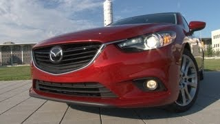 2014 Mazda MAZDA6 - Drive Time Review With Steve Hammes
