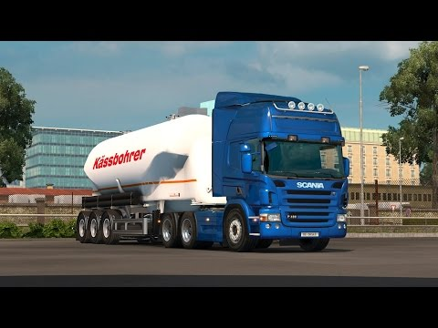 Scania straight 6 engine sounds reworked