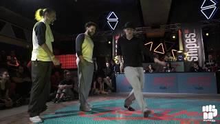 The Bridge (Mike & Emjay) vs Sam Sam & Yanka – Juste Debout Belgium 2018 Popping Final