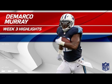 Video: DeMarco Murray Breaks Off 115 Yards vs. Seattle | Seahawks vs. Titans | Wk 3 Player Highlights