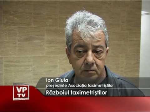 Razboiul taximetristilor