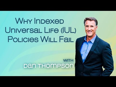 Why An Indexed Universal Life (IUL) Policy Will Fail - Quick Version - Safe Money - Cash Value Life