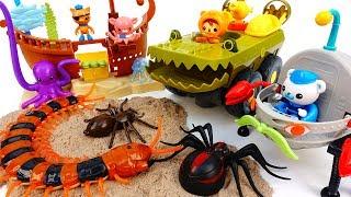 Video Underwater Earthquake~! Octonauts Defeat Monsters & Protect Sea Creatures MP3, 3GP, MP4, WEBM, AVI, FLV Oktober 2018