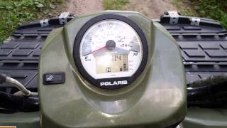 4. 2006 polaris sportsman 450 parting out