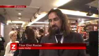 Tibor Eliot Rostas - reportáž z autogramiády novej knihy