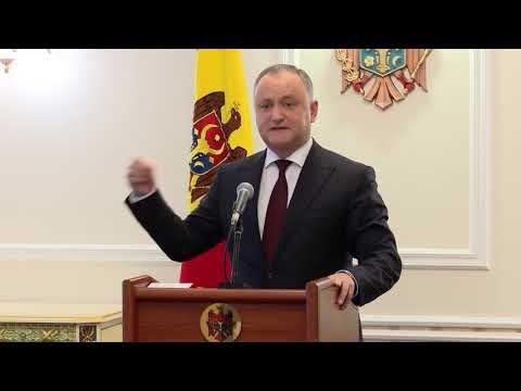 Igor Dodon: Guvernarea și majoritatea parlamentară controlată de un singur partid, au mai făcut un pas spre uzurparea definitivă a puterii în stat