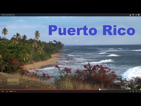 Puerto Rico - We visit the Arecibo Observatory, The Camuy River Caverns, the westermost part of the island, and Old San Juan. To be continued some day. Music available in ...