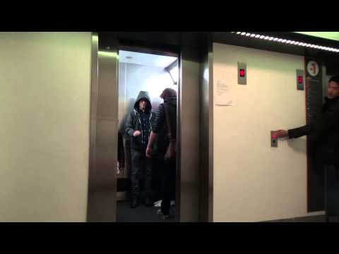 WATCH: Star Wars elevator prank