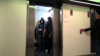 Star Wars Elevator Prank (USING THE FORCE FOR REAL) - YouTube