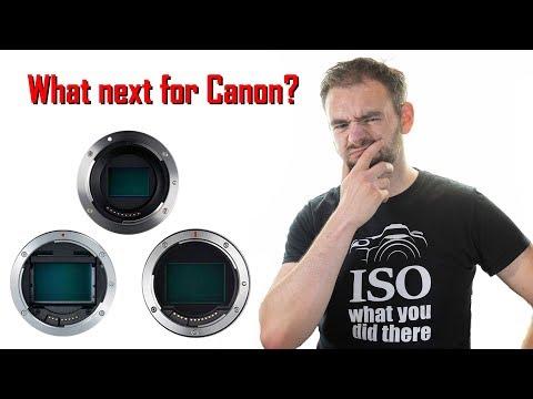 What is Canon's lens mount future? (видео)