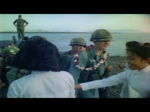 HD Historic Archival Stock Footage Vietnam War 25th Infantry Arrives 1966