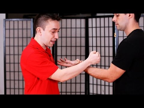 hand - Watch more How to Do Wing Chun videos: http://www.howcast.com/videos/509868-How-to-Do-Wu-Sau-aka-Guarding-Hand-Wing-Chun Learn how to do Fook Sau aka Subduin...