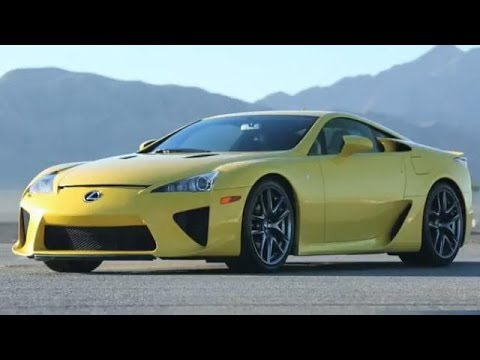 Lexus LFA Supercar Overview & Ride-Along Track Test with Scott Pruett