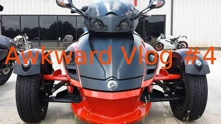 4. Awkward Vlog #4 - Can-Am Spyder RSS Review