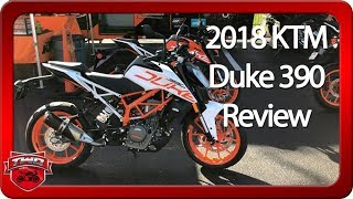 9. 2018 KTM Duke 390 Review