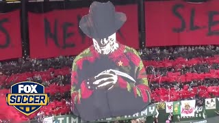 Timbers Army unveils 'A Nightmare on Elm Street' tifo by FOX Soccer