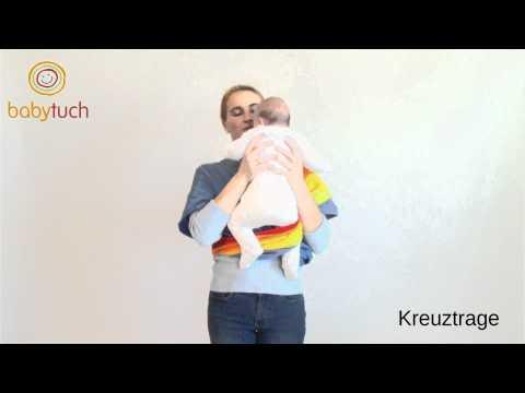 www.babytuch.com - Kreuztrage