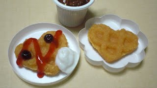 popin cookin 10 - Waffle shaped Candy Kit 可吃 You can eat | ASMR
