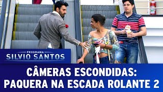 Video Paquera na Escada Rolante 2 - Love Escalator Prank 2   Câmeras Escondidas (23/07/17) MP3, 3GP, MP4, WEBM, AVI, FLV September 2018