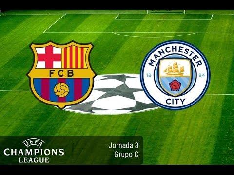 BARCELONA VS MANCHESTER CITY CHAMPIONS LEAGUE 2016 - 2017
