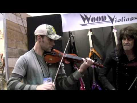 Jesse Spencer and Mark Wood NAMM 2010