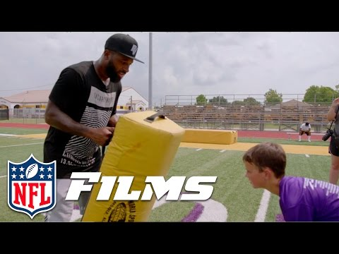 Video: Jarvis Landry Goes Home to Lend a Helping Hand | NFL Films Presents