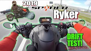 2. 2019 Can-Am Spyder Ryker 900 Test Ride + Review - Burnout Machine!