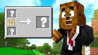 Minecraft But ALL The Item Recipes Are Randomized - Minecraft Scramble Craft #7 | JeromeASF
