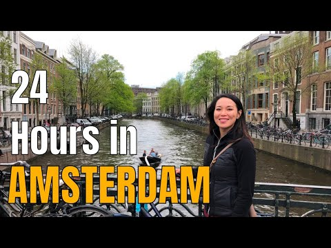 AMSTERDAM 24-Hour Visit 2018   Centraal   Anne Frank   Dam Square