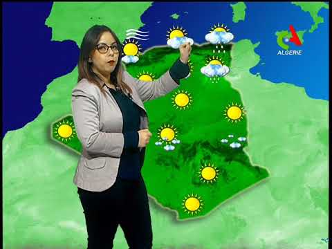 Retrouvez la météo du jeudi 03 janvier 2019 sur Canal Algérie