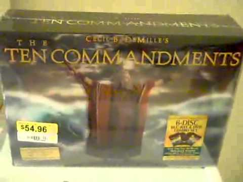 "Just Bought ""Ten Commandements"" 6-Disk Bluray/DVD"