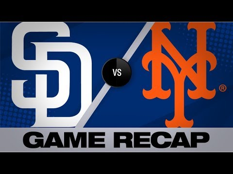 Video: Cano records 1st career 3-homer game in win | Padres-Mets Game Highlights 7/23/19