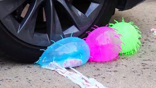 Video Crushing Satisfying Crunchy & Soft Things With Car - Slime, Orbeez, Squishy MP3, 3GP, MP4, WEBM, AVI, FLV Juli 2019