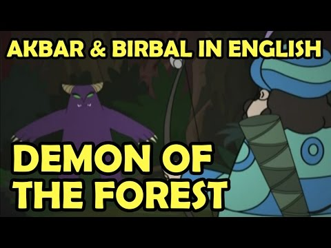Akbar And Birbal || Demon Of The Forest || English Animated Story Vol 2