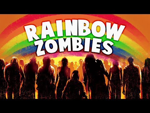 RAINBOW ZOMBIES ★ Call of Duty Zombies Mod (Zombie Games)
