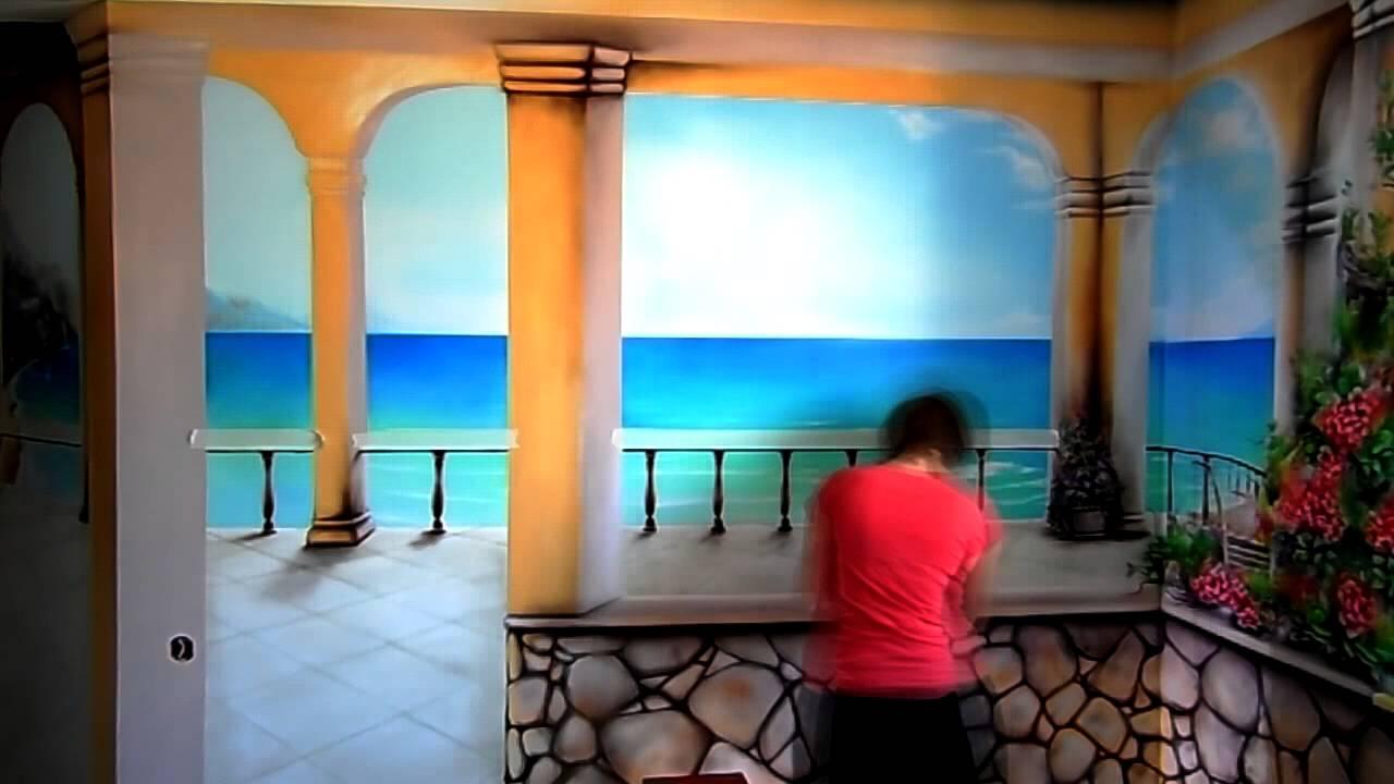 Терасса с видом на море