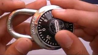 Video How to find the combination to a master lock (HD) MP3, 3GP, MP4, WEBM, AVI, FLV Desember 2018