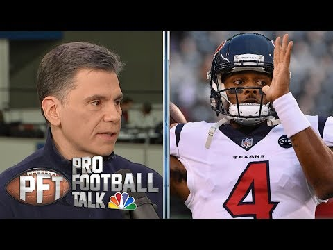 Video: Deshaun Watson wants to have Manning-Brady rivalry with Mahomes | Pro Football Talk | NBC Sports