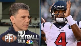 Deshaun Watson wants to have Manning-Brady rivalry with Mahomes | Pro Football Talk | NBC Sports