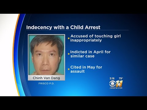 Frisco Man Arrested For Touching A Child Inappropriately For A Second Time