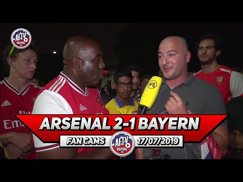 Arsenal 2 -1 Bayern Munich | Do You Trust The Kroenke's To Deliver? (Robbie Asks The Fans)